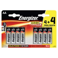Energizer AA Battery 4+4