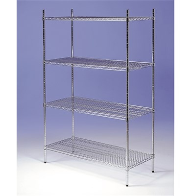 Racking Chrome 3 Tier 1800mm x 400mm x 1650mm