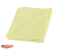 yellow microfiber cloth
