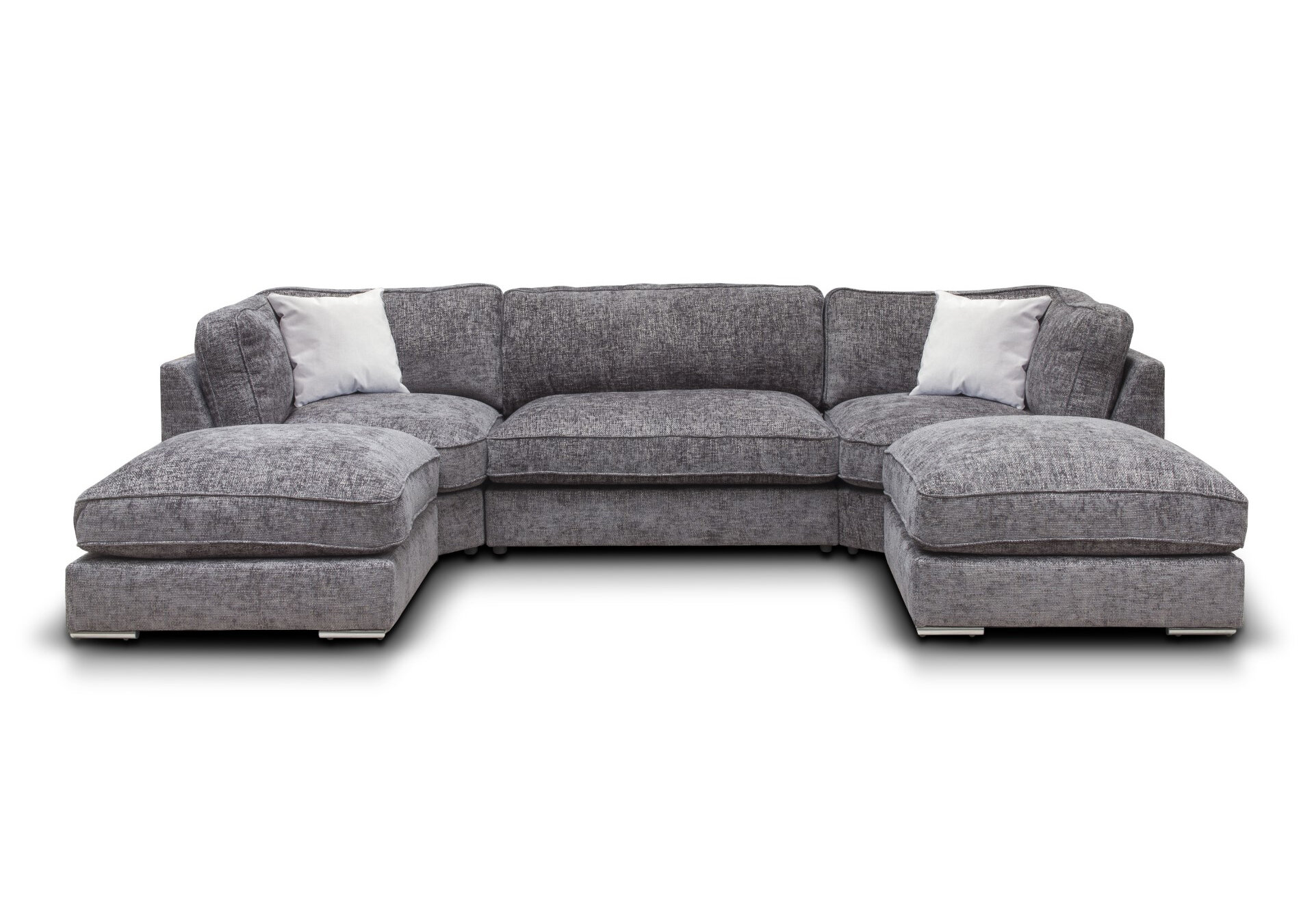 Harmony Fabric Sofa - Enzo Slate 1