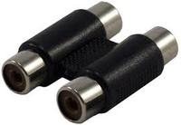 2 x RCA Socket - 2 x RCA Socket