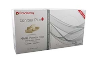 CRANBERRY - CONTOUR NITRILE GLOVES SMALL