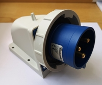 IP67 Appliance Inlet 2P+E -32A 200-250V