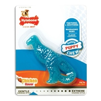 Nylabone Puppy Teething Dino - Chicken Small x 1