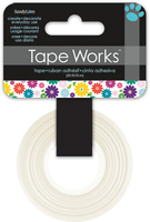Tape Multicoloured Floral (Priced in singles, order in multiples of 4)