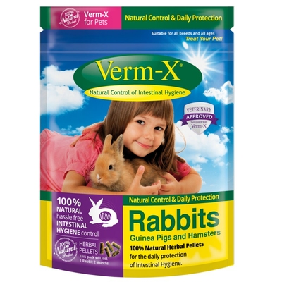 Verm-X Herbal Nuggets for Rabbits & Small Animals 180g x 1