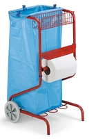 GARAGE ROLL HOLDER & TROLLY
