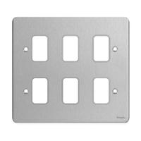 Ultimate GRID Stainless Steel GANG PLATE|LV0701.1026