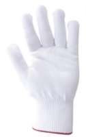 100% Nylon Glove/Liner White Pkt 12
