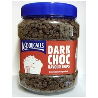 MC DOUGALLS CHOC CHIPS DARK 1.1 Kgs