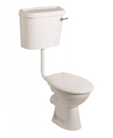 SONAS STRATA LOW LEVEL WC W520 X H895 X D710 MM WITH CISTERN AND S/C SEAT