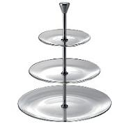 Full Moon 3 Tiered Plate 15cm,21cm & 28cm