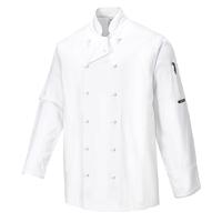 Portwest Norwich Chef Jacket White