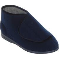 Cosyfeet Navy Boot Slipper (Eliza)