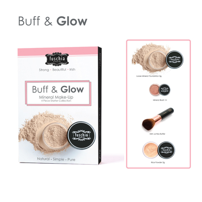 Buff & Glow Mineral Makeup Starter Kit