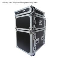 eLumen8 10U Rack Flight Case (with Wheels)