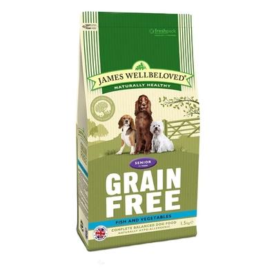 James Wellbeloved Senior Dog Grain-Free - Fish 1.5kg