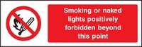 Prohibition and Smoking Sign PROH0001-1047
