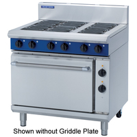 Convec O/Range Elec 19.5kw 300mm Griddle Top/600mm Hob Top