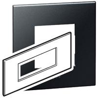Arteor (British Standard) Plate + Support 6m Square Pearl Alu | LV0501.0134