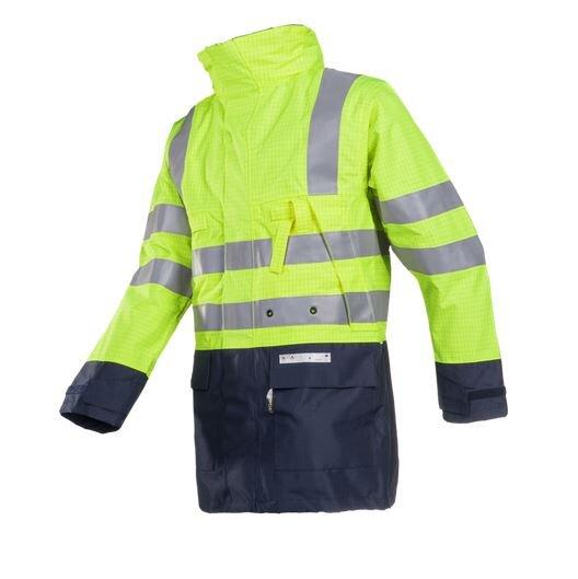 SIOEN 3073 Winseler Hi-Vis FR AST Rain Jacket