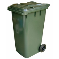 120L Wheely Bin Dark Green