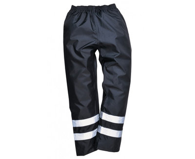 PORTWEST S481 Iona Lite Trousers Navy c/w Reflective Strips
