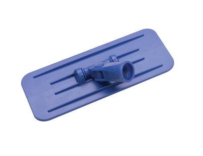 5229 Swivel Abrasive Floor Pad Gripper Blue 230x95mm