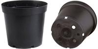 Soparco SM Container Round Form 1lt - Black