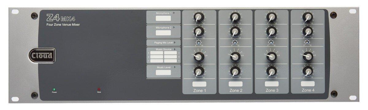 Cloud Z4MK4   4 Zone Mixer