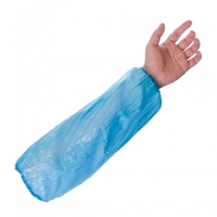 Supertouch PE Disposable Oversleeves, Blue (100 per pack)