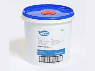 SW2 Surface Disinfectant Wipes (1000)