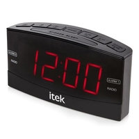 ITEK LED CLOCK RADIO