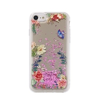 Liquid Mirror TPU Flower1 case for Huawei P Smart