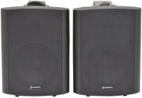 "6.5"" Amplified Stereo Speaker Set BC6A Black"