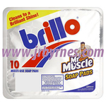 Brillo Soap Pads 10's x12