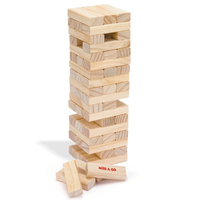 stack and fall/wooden tumbling tower game