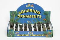 Fish R Fun Aquarium Ornaments - Bridges Castles etc. x 18