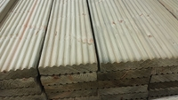 Decking Board Redwood Ribbed 144x32mm Imported 4.5 Metre
