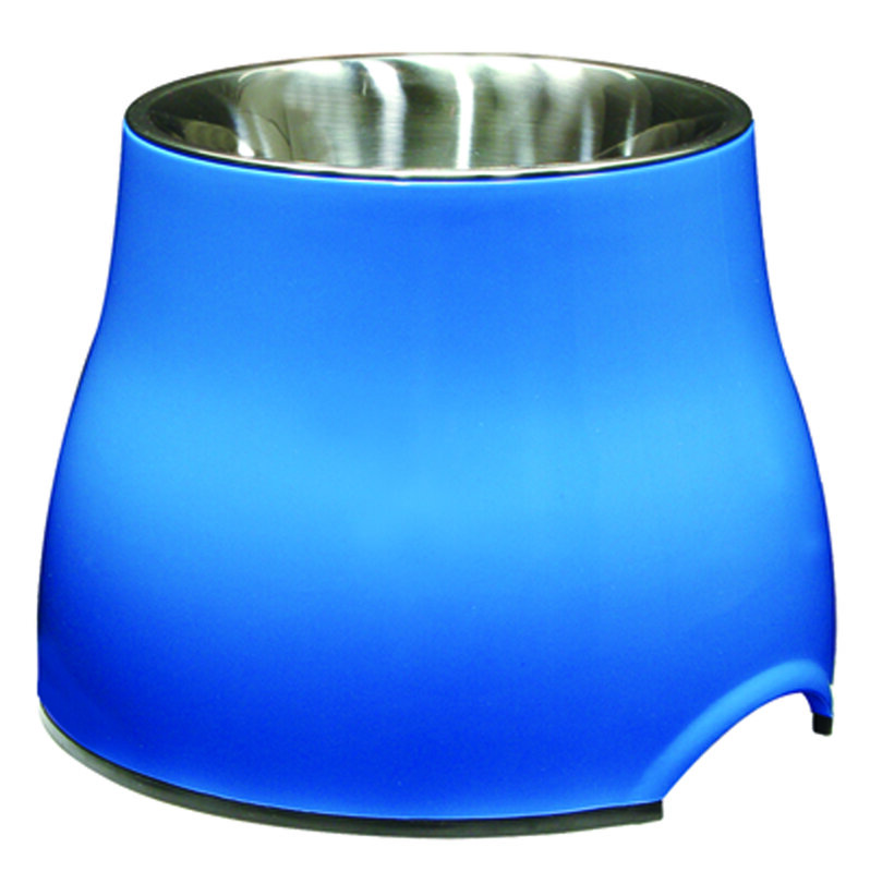 Dogit Elevated Dish Blue - Large