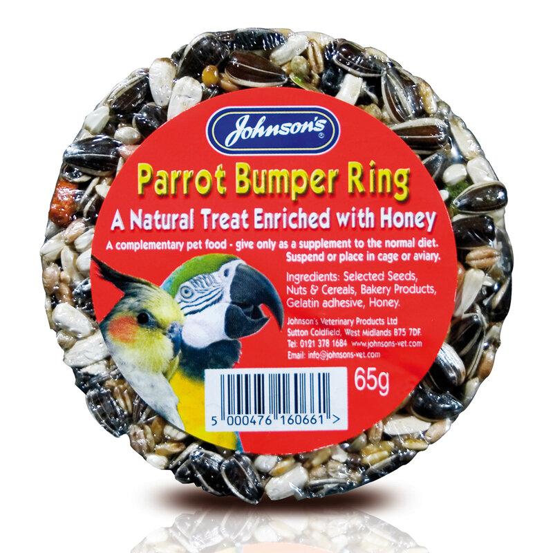 JVP Parrot Bumper Rings x 20