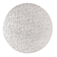 "SINGLE THICK ROUND SILVER-CARD 9"""" (STR9)"