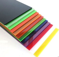 Coloured Acrylic Sheets 1000mm x 500mm