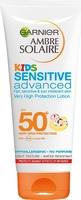 Garnier Ambre Solaire Kids Milk Sensitive Advanced Tube Spf50 200ml