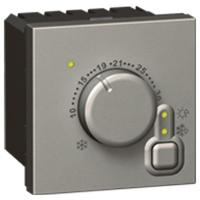 Arteor Thermostat RSA Microline Square - Magnesium  | LV0501.2537