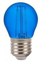 2W G45 LED Blue Colour Filament Bulb E27