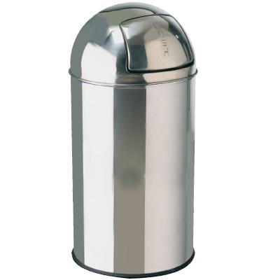 Bulllet Bin 40ltr Stainless Steel