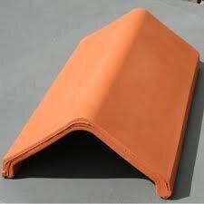 Universal Angle Clay Ridge Tile 340mm Red