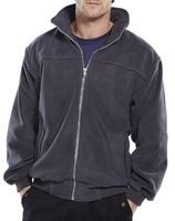 Click Endeavour Grey Heavy Weight Fleece Jacket