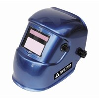 Auto Darkening Welding Helmet With Grinding Mode Blue